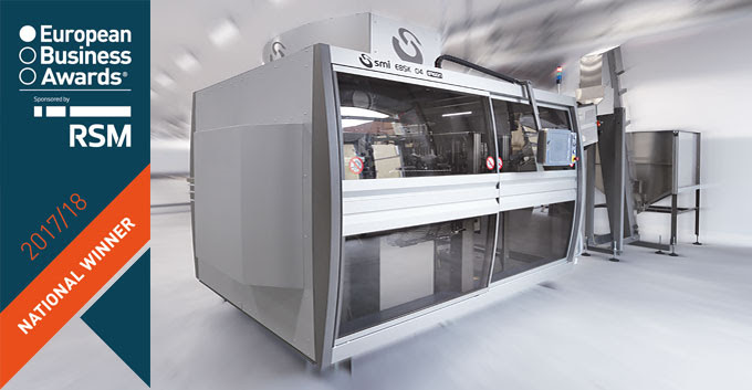 SMI's stretch-blow moulder wins innovation award