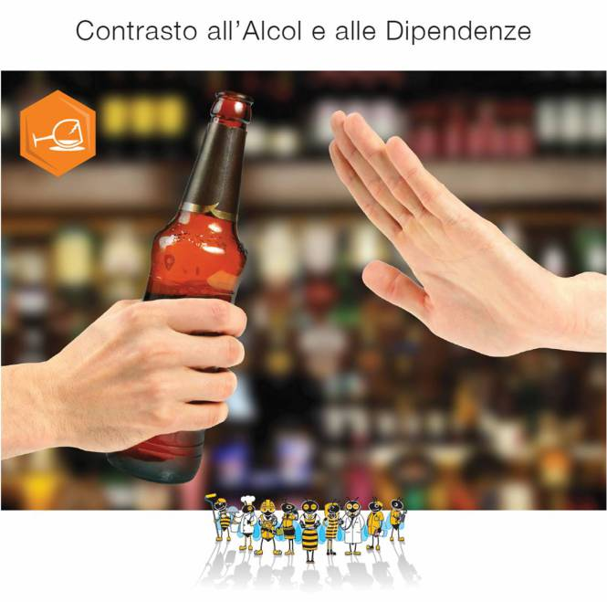 Contrasto all'abuso di alcol e all'uso di sostanze stupefacenti